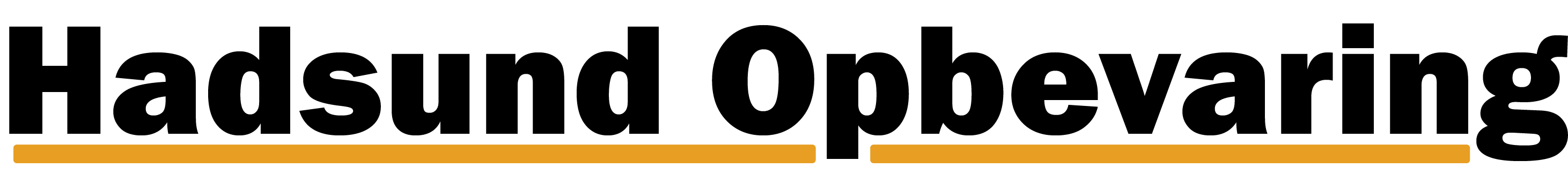 Hadsund Opbevaring logo